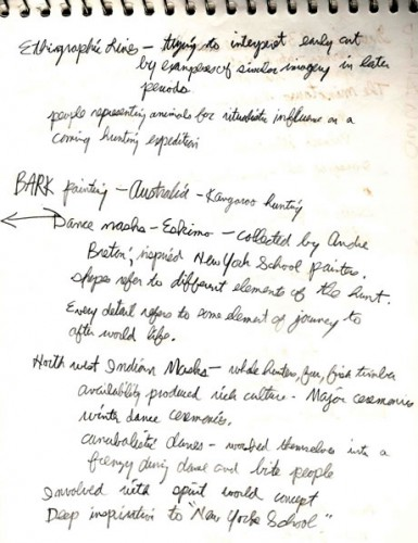 Notebook 2, SVA, 1979