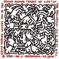 Party of Life, The Palladium invitation, 1985