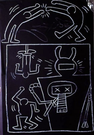 Keith Haring, Subway, 1982