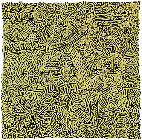 Untitled by Keith Haring and LAII