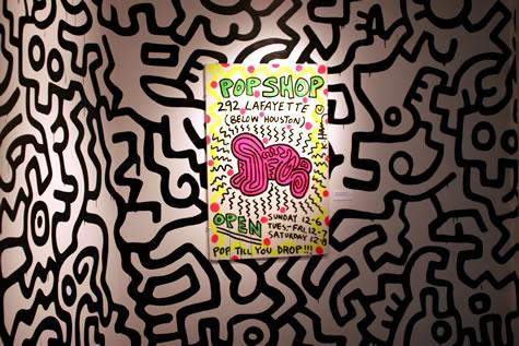 Pop Shop Poster