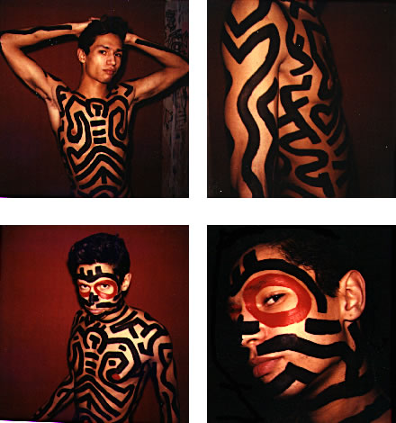 Untitled (body painting)