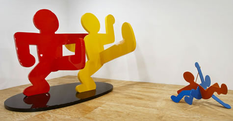 Untitled (Two Dancing Figures)