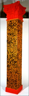 Corinthian Column by Keith Haring and LA II