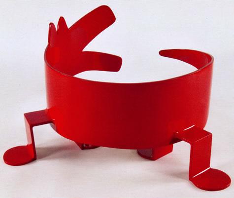 Untitled (Curling Dog)