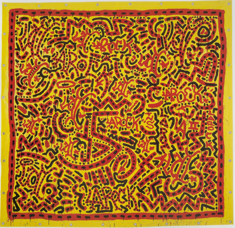 Untitled by Keith Haring and LA II