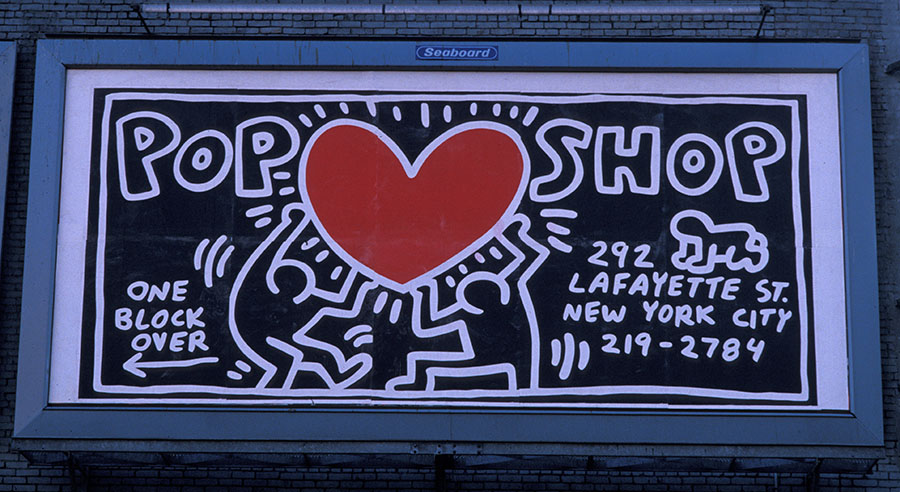 Keith haring communicating through cartoons essay